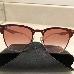 Authentic Ray Ban Blaze Clubmaster Sunglasses 🕶